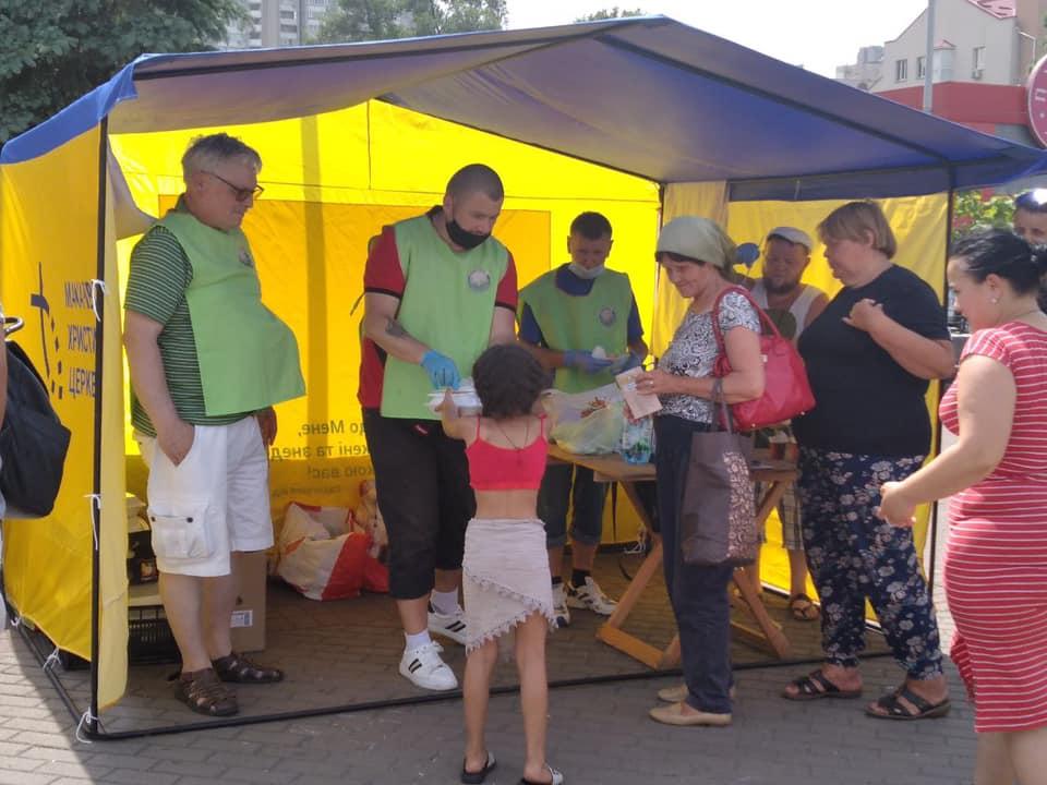 Кормление в Киеве на вокзале Бесплатная реабилитация Макаровская и Киевская Христианские Церкви