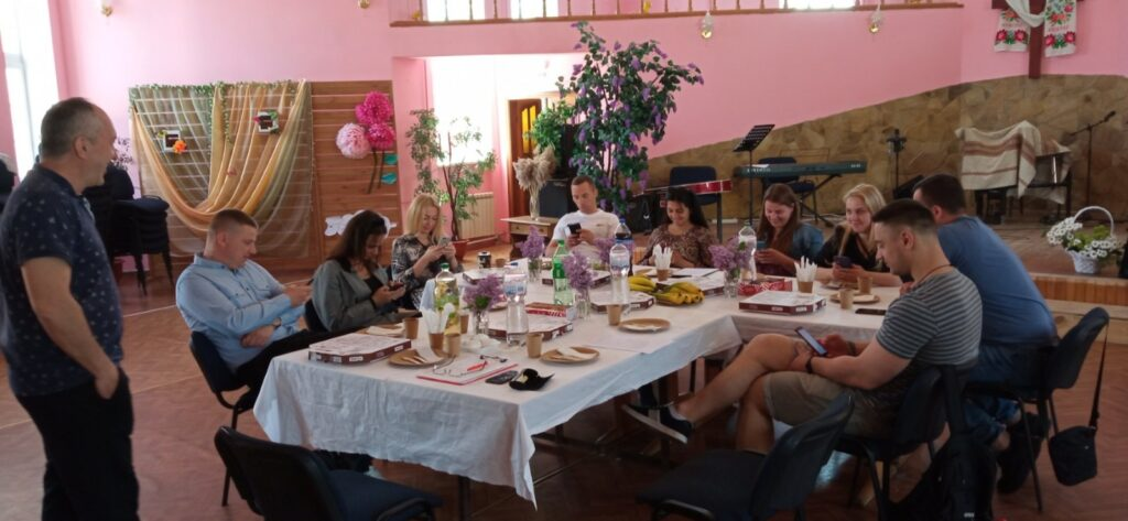 Семейные встречи Макаровская Христианская Церковь